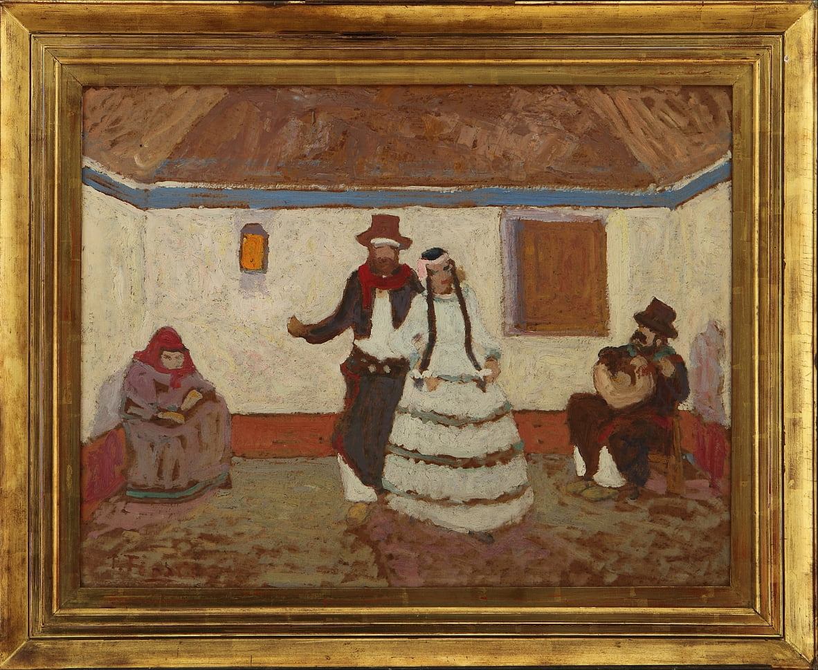 Dancing on the Ranch da Pedro Figari