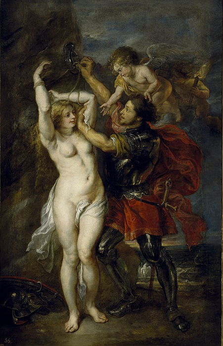 Andromeda liberata da Perseo, 1641-1642...