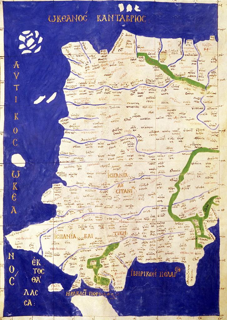 Cartina Del Portogallo Da Stampare.Mappa Della Spagna E Del Portogallo Da 39 Geogra