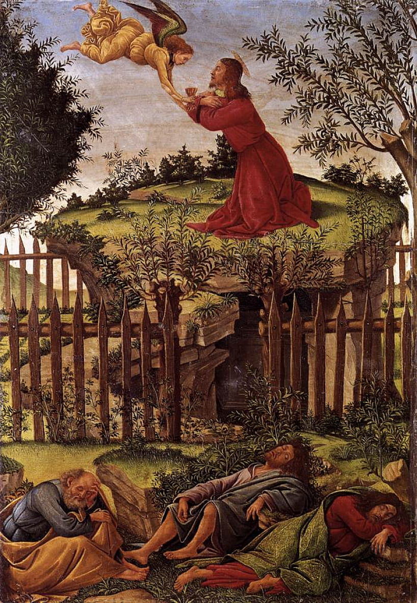 Agony in the Garden da Sandro Botticelli