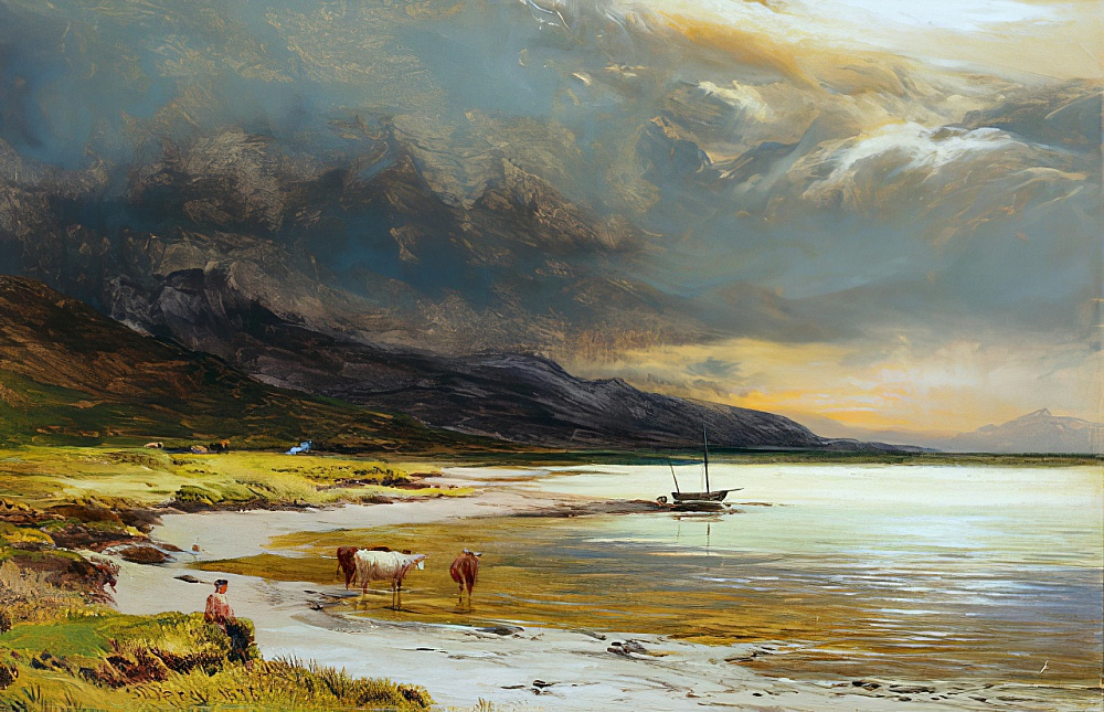 Vista dell&39;isola di Skye 1 da Sidney Richard Percy