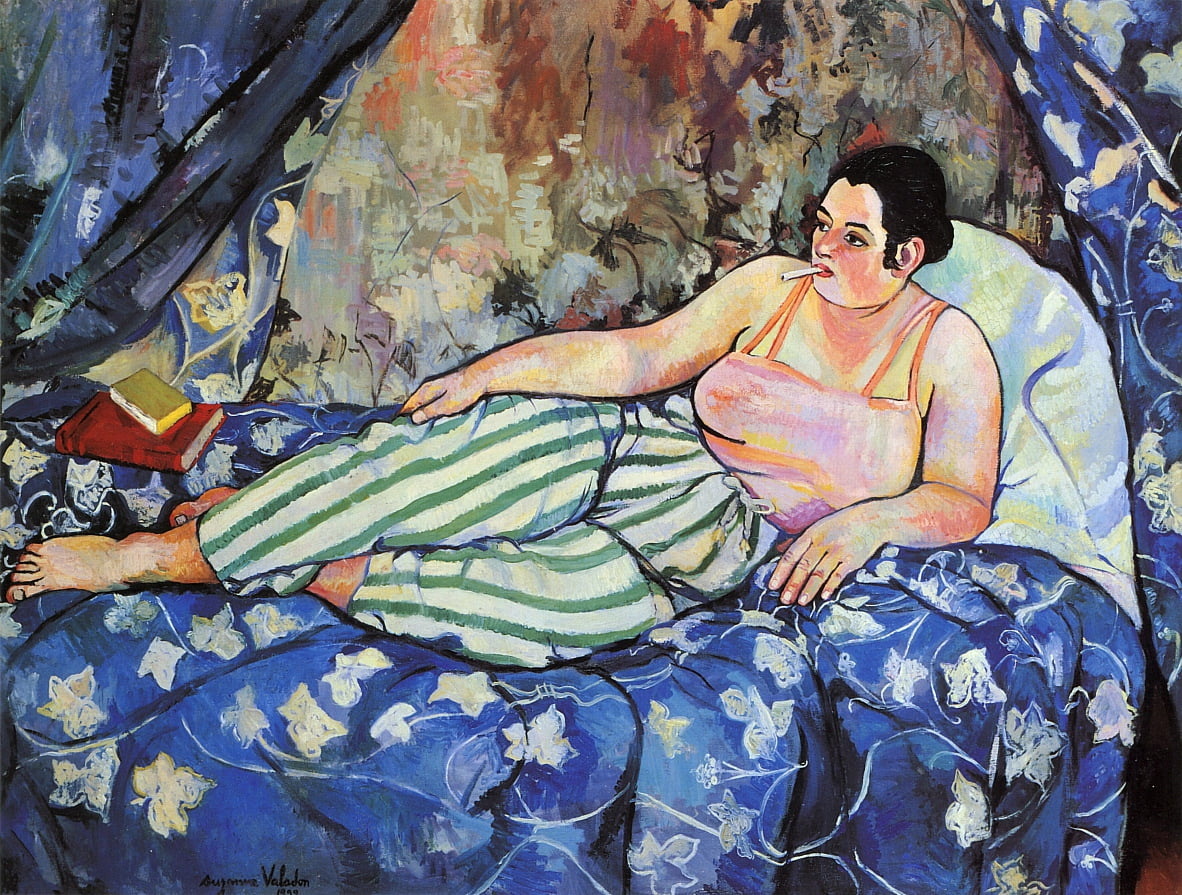 The Blue Room da Marie Clementine (Suzanne) Valadon