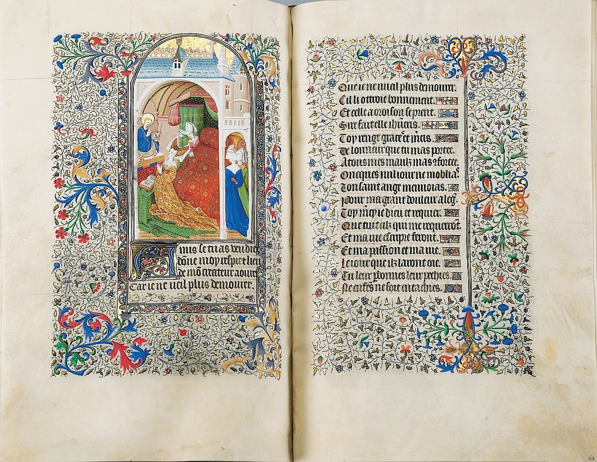 Sobieski Libro delle Ore da The Master of the Bedford Hours
