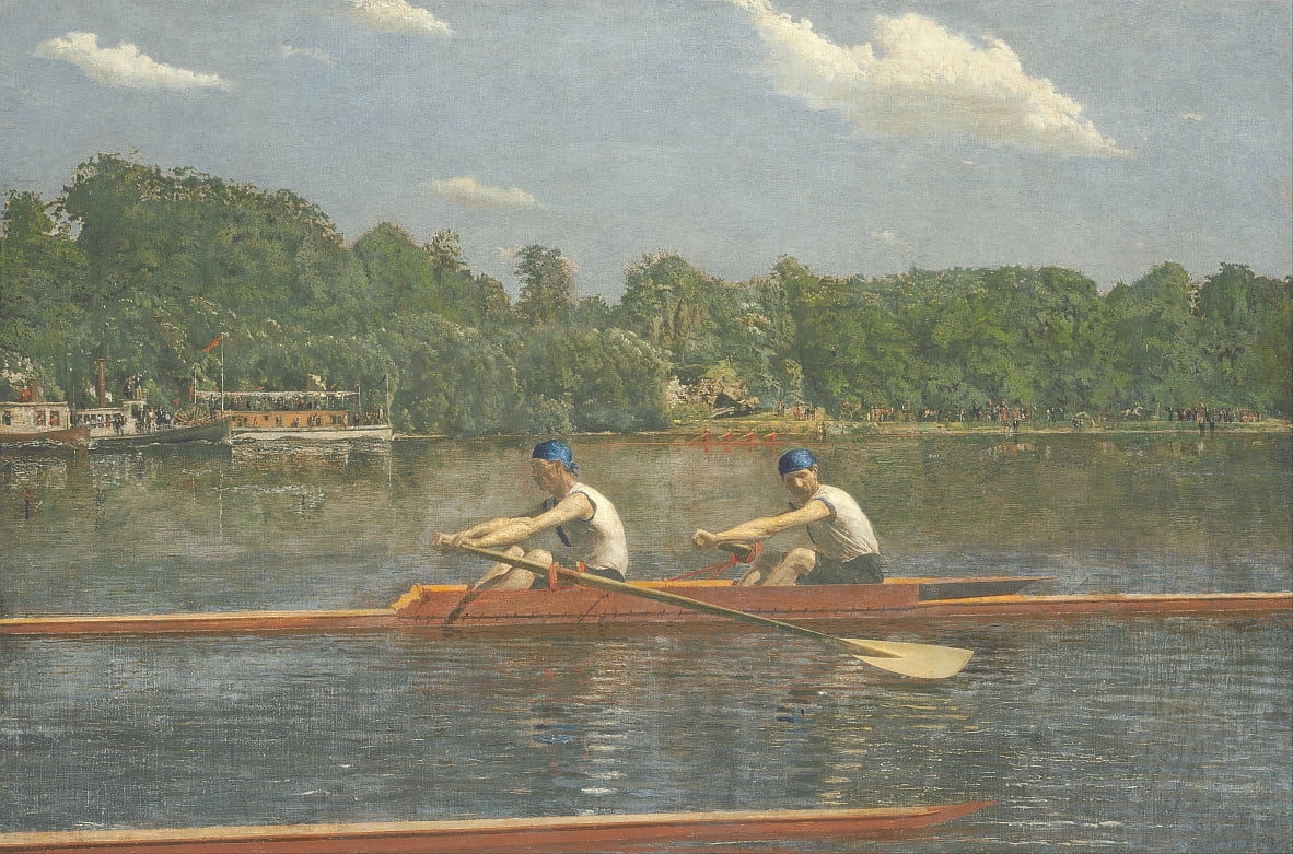 I Biglin Brothers Racing da Thomas Eakins