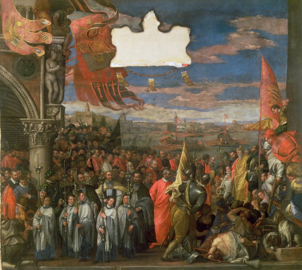 Il doge Andrea Contarini torna vittorioso da Chioggia