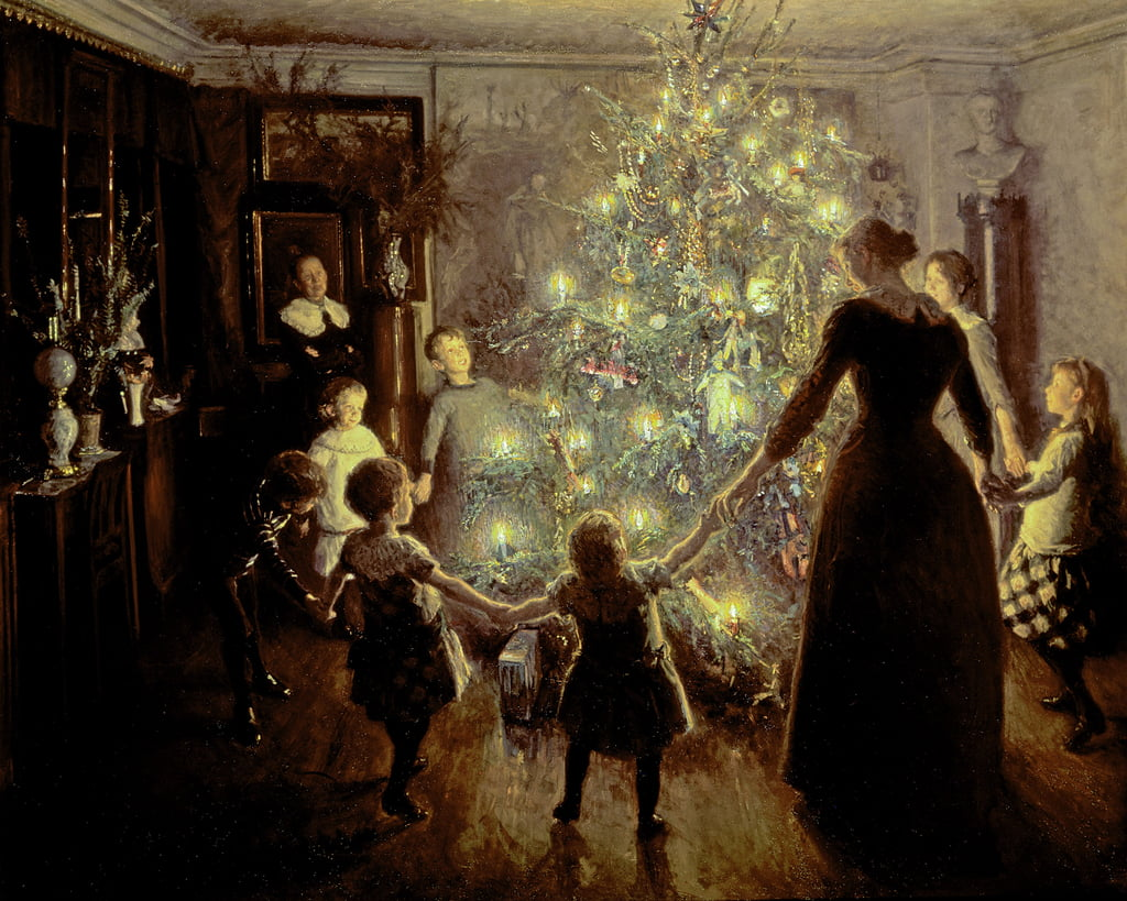 Silent Night, 1891 da Viggo Johansen