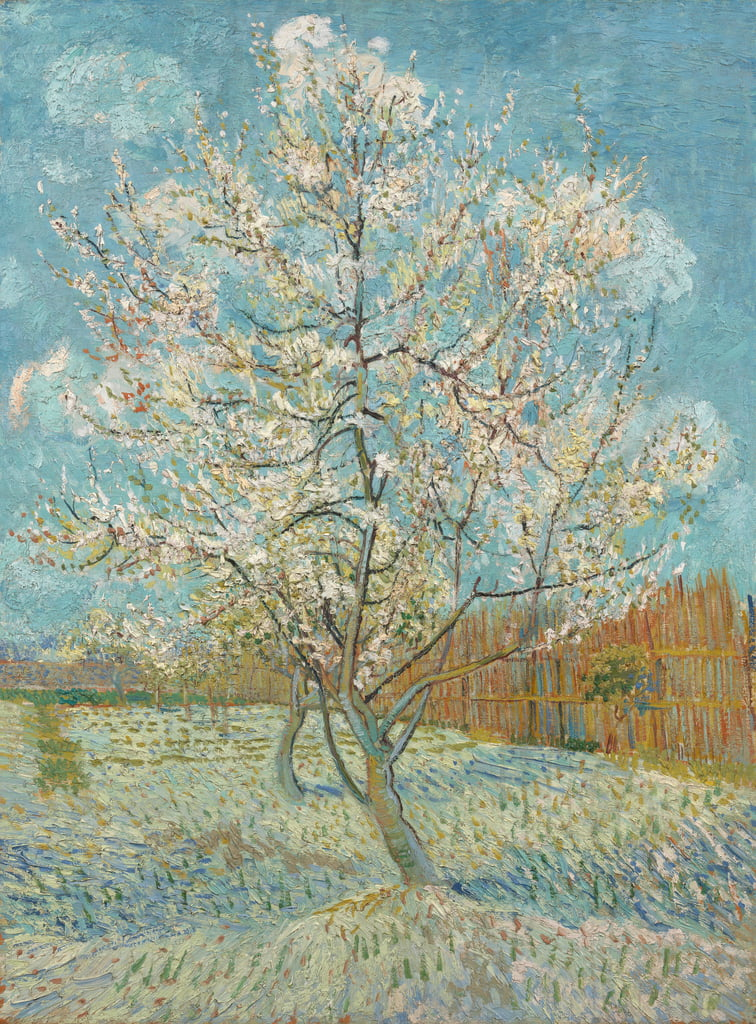 The Pink Peach Tree, 1888 da Vincent van Gogh