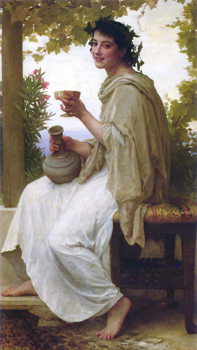 Baccante da William Adolphe Bouguereau