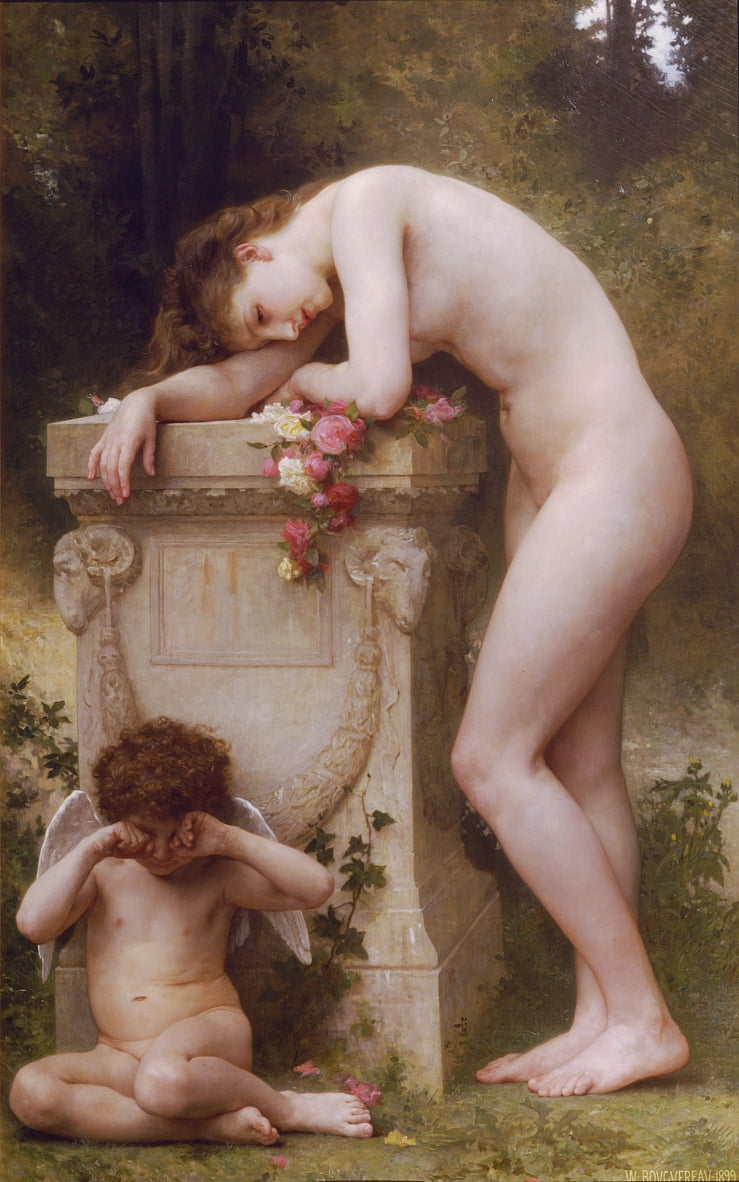 Elegia da William Adolphe Bouguereau