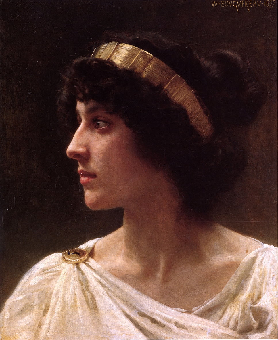 Irene da William Adolphe Bouguereau