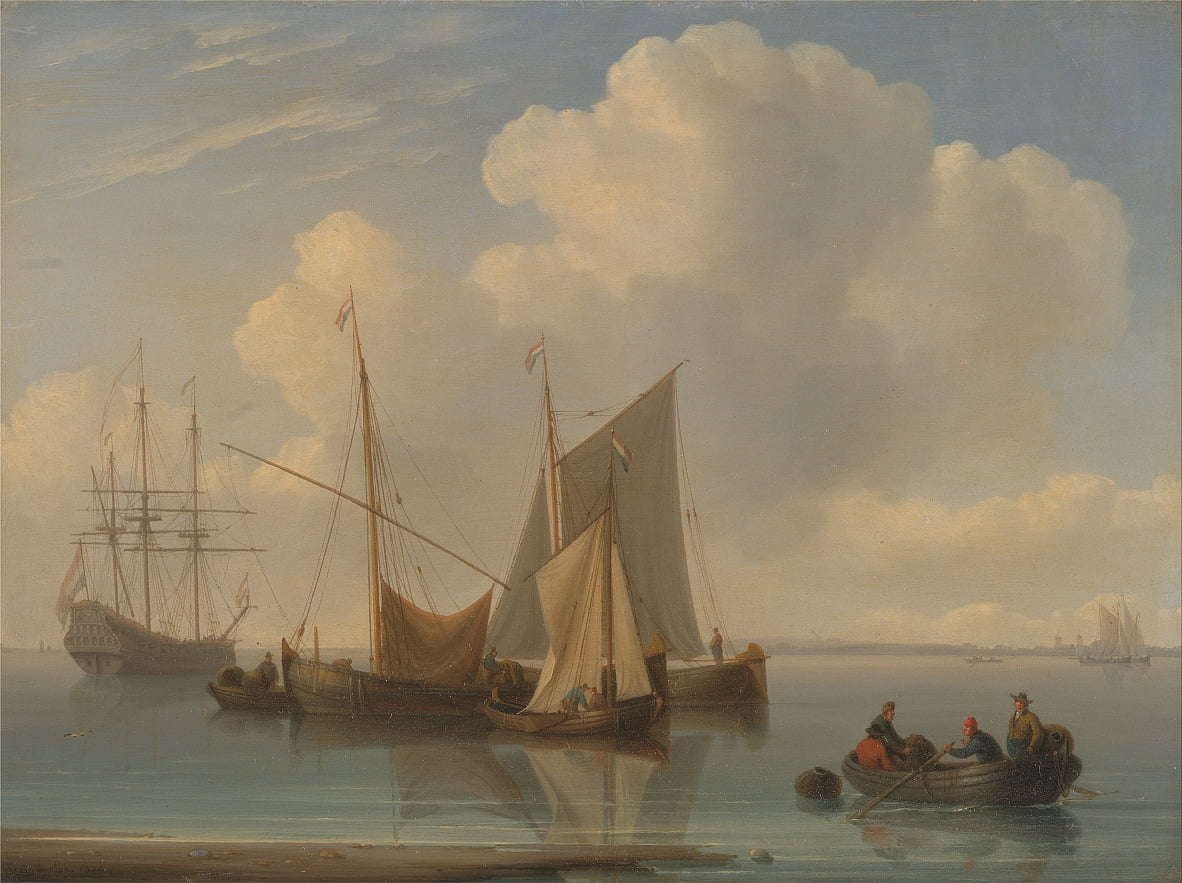 Dutch Sailing Vessels da William Anderson
