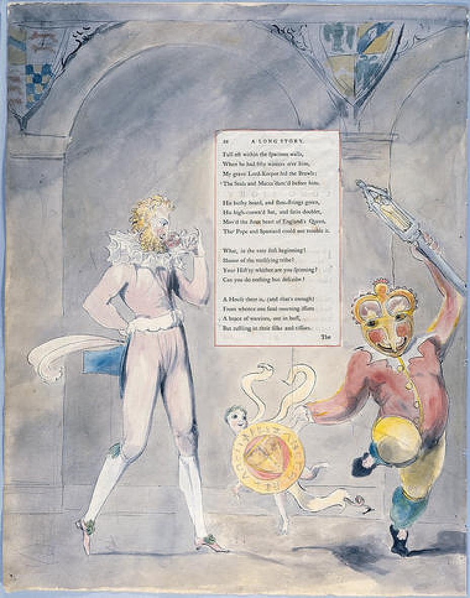 Grays Poems da William Blake