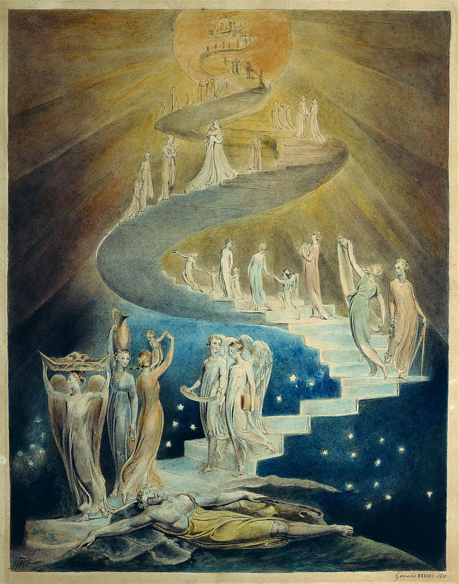 Jacobs Dream da William Blake