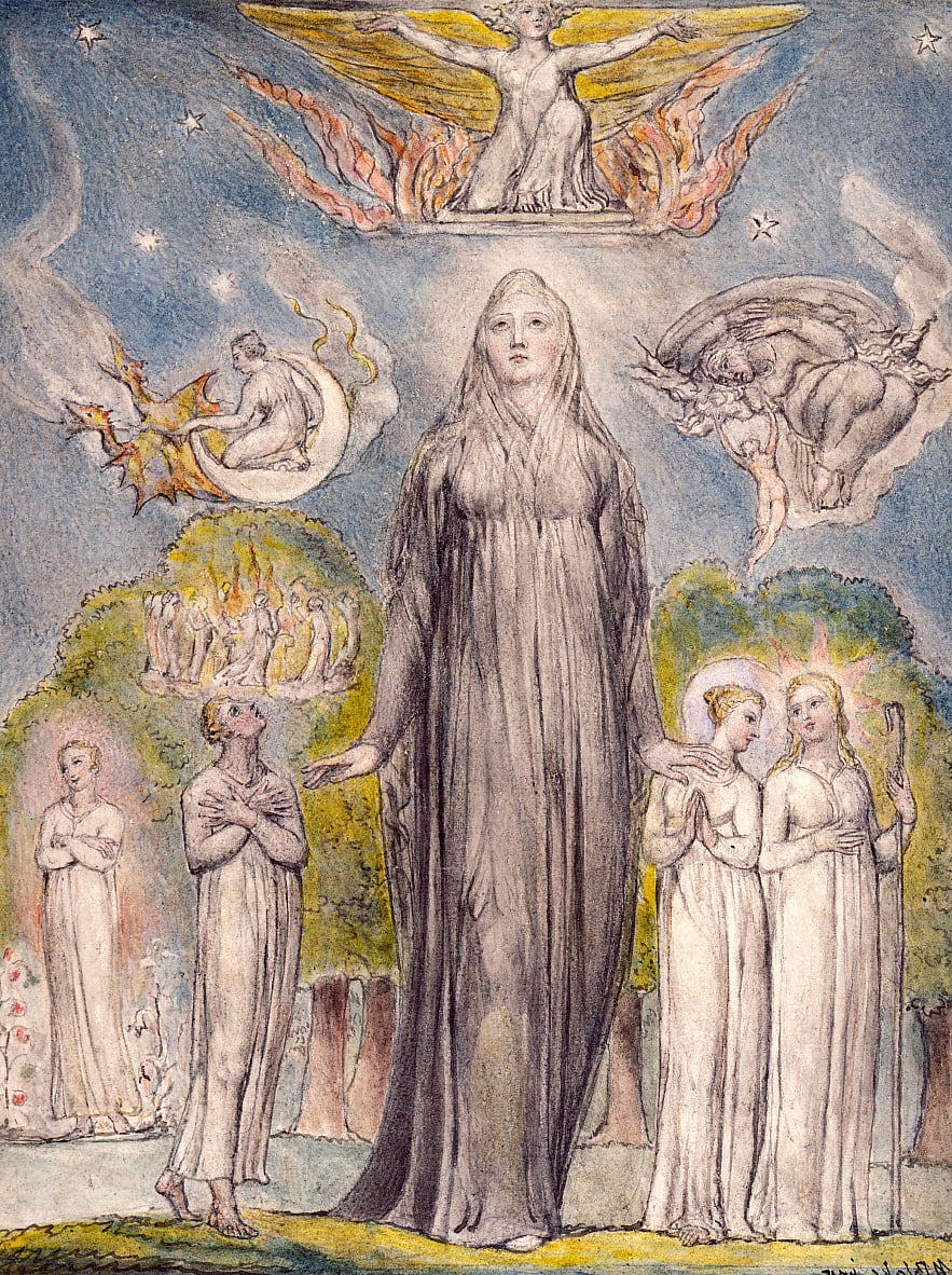 Malinconia da William Blake