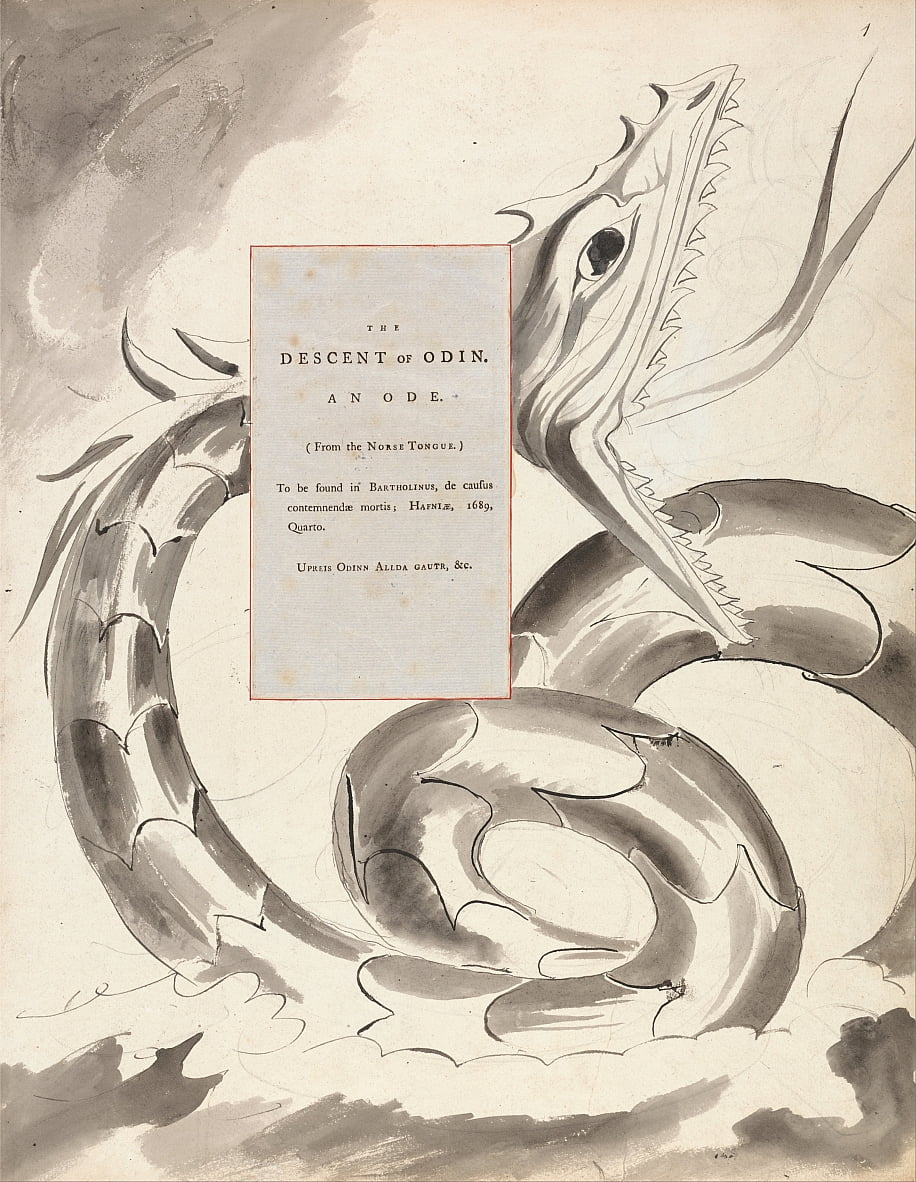 The Poems of Thomas Gray, Design 77, da William Blake