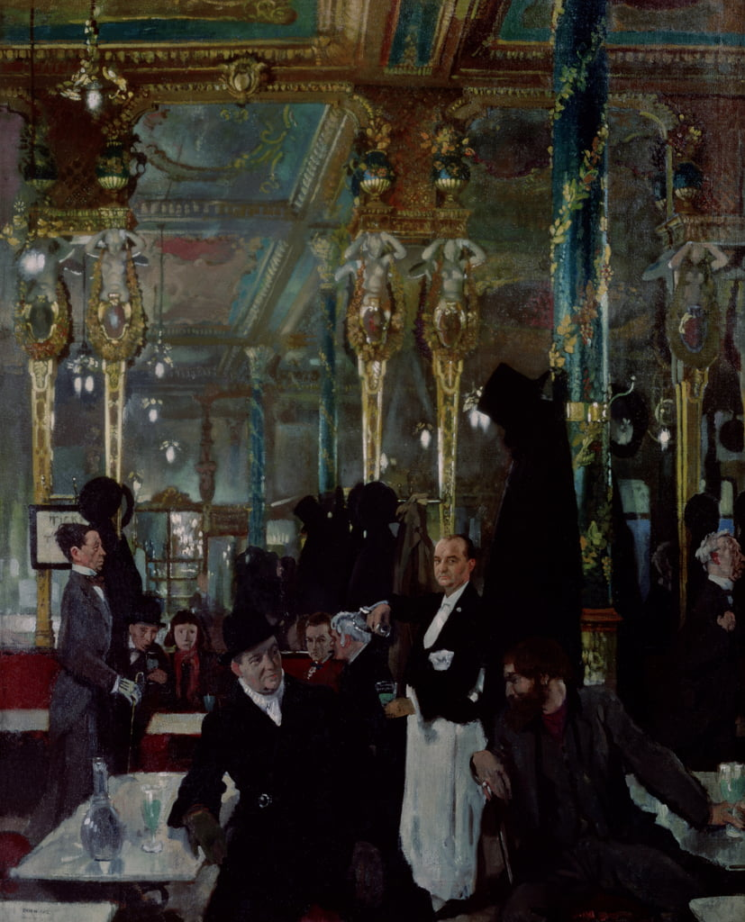 Cafe Royal, Londra, 1912 da William Orpen