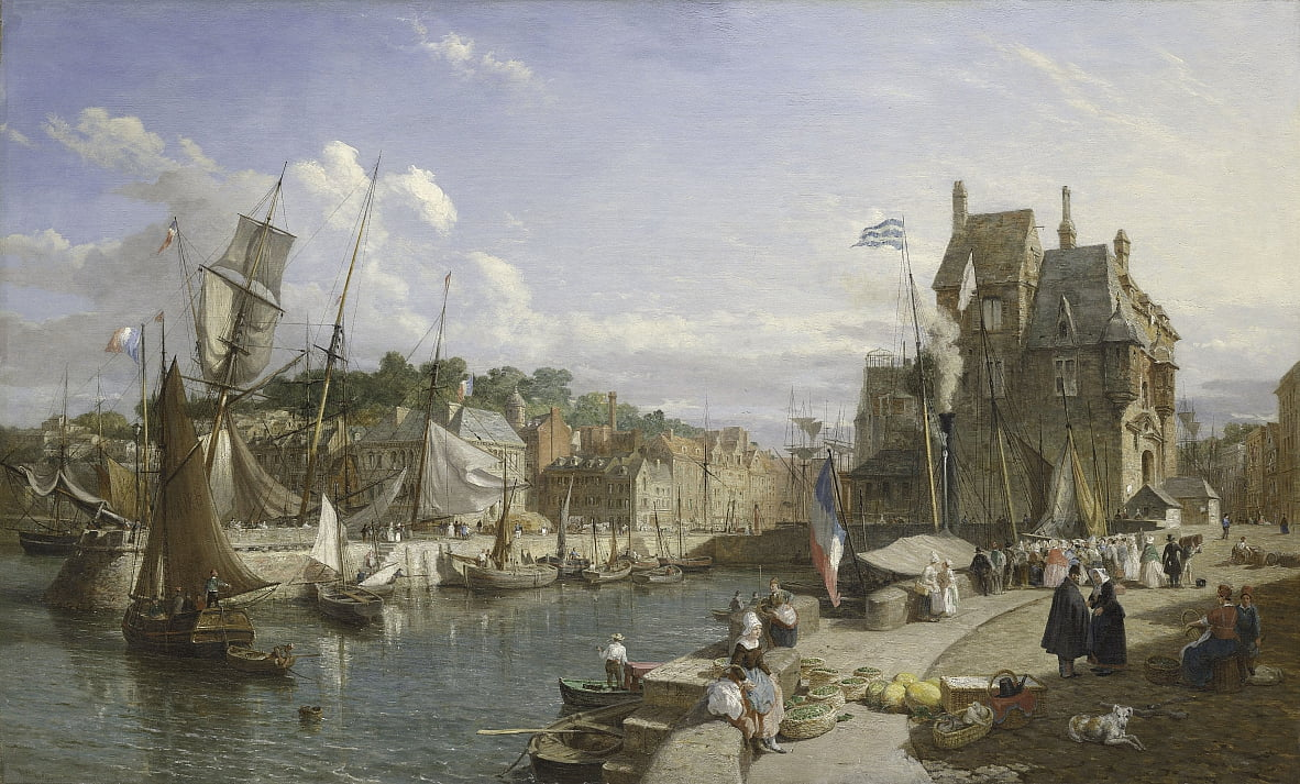 Honfleur da William Parrott