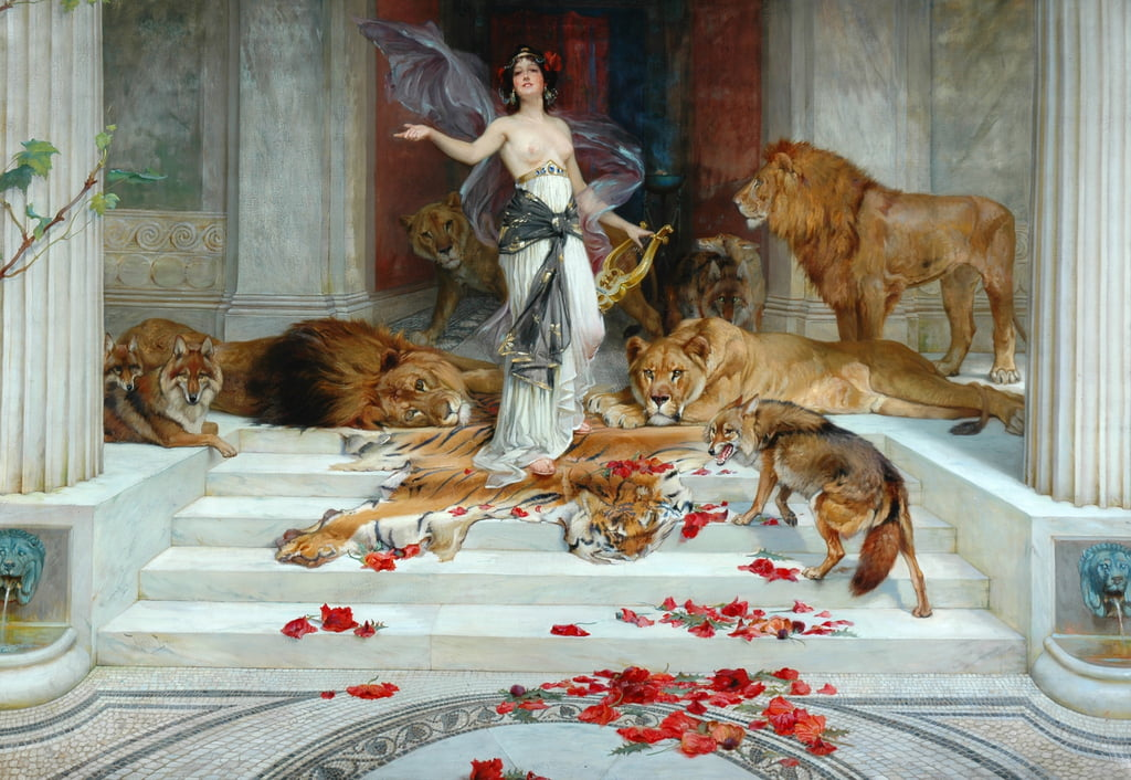 Circe, 1888 circa da Wright Barker