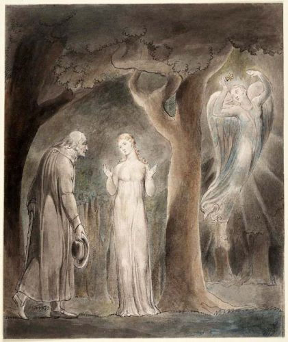Milton Comus da William Blake